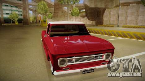Chevrolet C-10 1974 para GTA San Andreas left