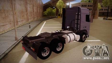 Volvo FH12 Globetrotter para la visión correcta GTA San Andreas