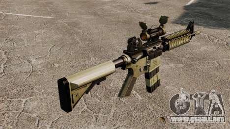 Automático carabina M4 CQBR v1 para GTA 4 segundos de pantalla