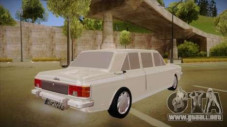 Paykan Limousine para la visión correcta GTA San Andreas