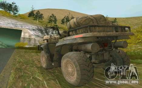 ATV de la medalla de Honor para la visión correcta GTA San Andreas