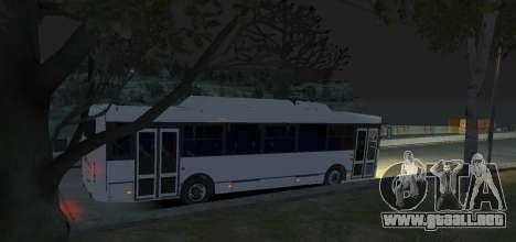 LIAZ 5256.57-01 2013 para GTA 4 vista hacia atrás