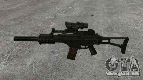 Automático HK G36C v4 para GTA 4 tercera pantalla