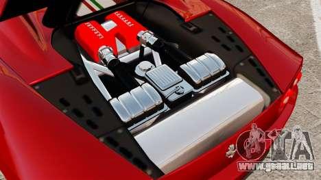 Ferrari 360 Spider 2000 [EPM] para GTA 4 vista interior
