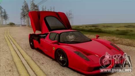 Ferrari Enzo 2002 para la vista superior GTA San Andreas