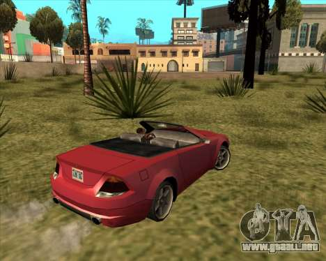 Feltzer Benefactor de GTA 4 para GTA San Andreas left