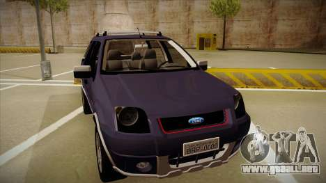 Ford Ecosport FreeStyle 2007 para GTA San Andreas left