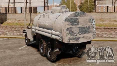 Camión ZIL-157 para GTA 4 Vista posterior izquierda