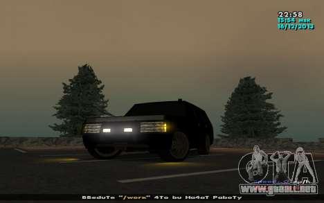 Huntley Mp-bandido para GTA San Andreas left