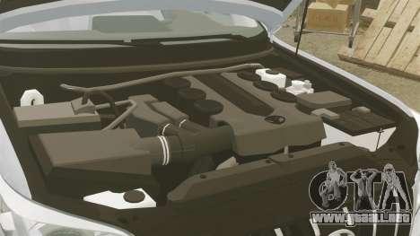 Toyota Land Cruiser Prado 150 para GTA 4 vista interior