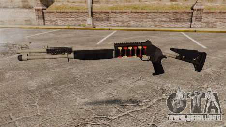 Escopeta M1014 v1 para GTA 4 tercera pantalla