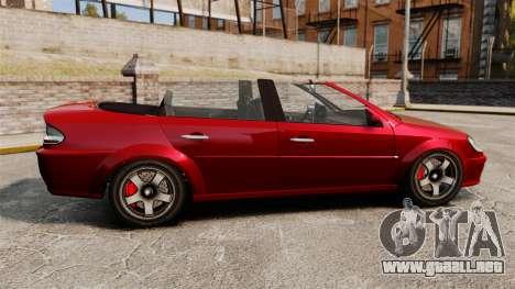 Versión convertible del primer ministro tuning para GTA 4 left