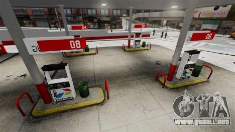 Pertamina GAS STATION para GTA 4 quinta pantalla