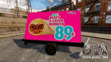 La nueva publicidad sobre ruedas para GTA 4 tercera pantalla