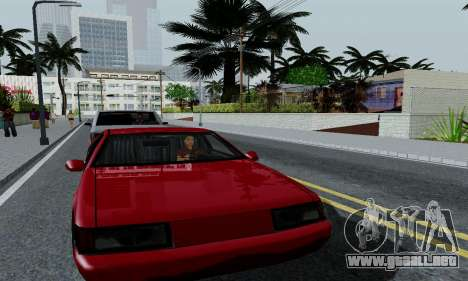 ENBSeries for low PC para GTA San Andreas quinta pantalla