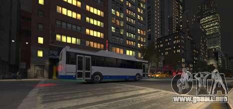 LIAZ 5256.57-01 2013 para GTA 4 vista interior