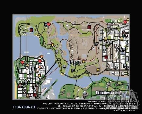 Tour en helicóptero de San Fierro para GTA San Andreas segunda pantalla