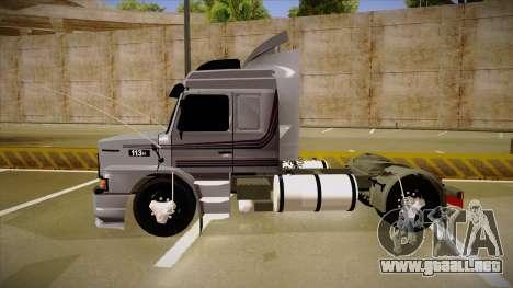 Scania 113H Top Line Neee Edit para GTA San Andreas vista posterior izquierda