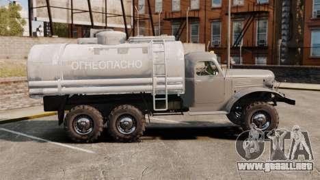 Camión ZIL-157 para GTA 4 left