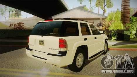 Chevrolet Trail Blazer para la visión correcta GTA San Andreas