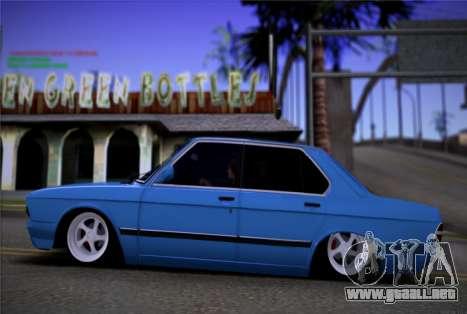 BMW 535I E28 para GTA San Andreas left