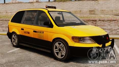 Taxista con nuevos discos para GTA 4