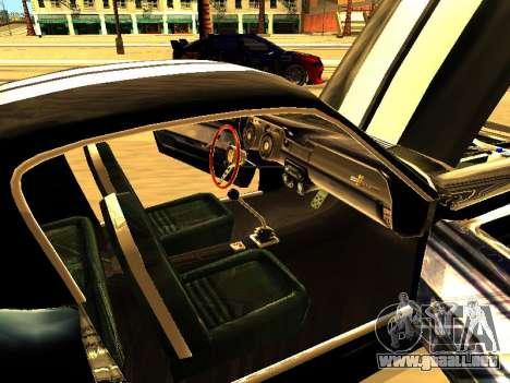 Ford Shelby GT-500E Eleanor para vista lateral GTA San Andreas