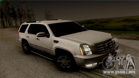 Cadillac Escalade para visión interna GTA San Andreas