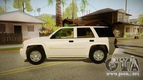 Chevrolet Trail Blazer para GTA San Andreas left