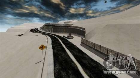 Ubicación Nevado Sakina para GTA 4 octavo de pantalla