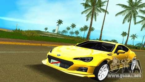 Subaru BRZ Type 5 para GTA Vice City