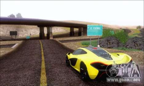 McLaren P1 EPM para visión interna GTA San Andreas