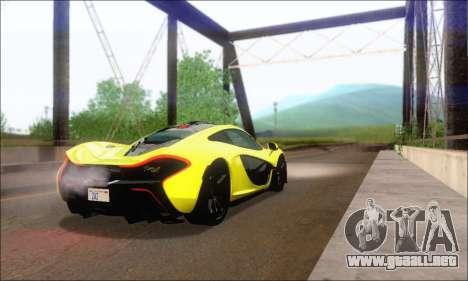 McLaren P1 EPM para la visión correcta GTA San Andreas