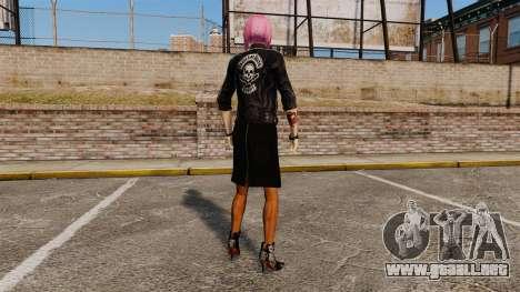 Nueva ropa Nico de la muchacha para GTA 4 adelante de pantalla