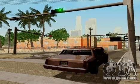 ENBSeries for low PC para GTA San Andreas octavo de pantalla