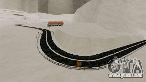 Ubicación Nevado Sakina para GTA 4 quinta pantalla