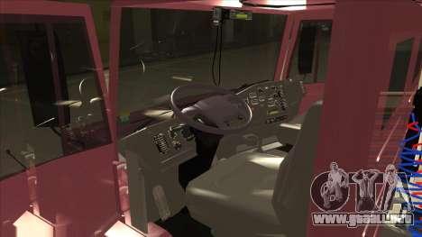Mrecedes-Benz LS 2638 Canaviero para la visión correcta GTA San Andreas