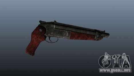 Escopeta recortada v2 para GTA 4 tercera pantalla