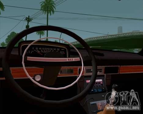 VAZ 21011 policía para la visión correcta GTA San Andreas
