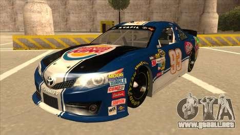 Toyota Camry NASCAR No. 93 Burger King Dr Pepper para GTA San Andreas