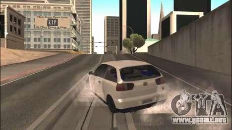 Seat Ibiza Cupra R 1.8 20V 2002 para la visión correcta GTA San Andreas