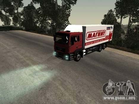 MAN TGA 26350 imán para GTA San Andreas