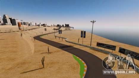 Ubicación DesertDrift ProStreetStyle para GTA 4 quinta pantalla