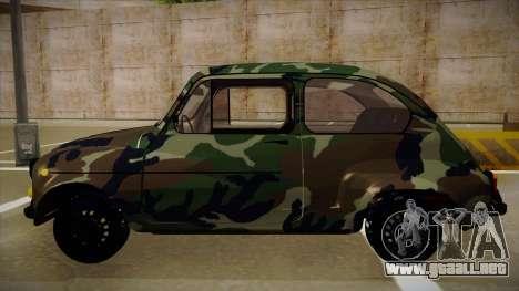 Zastava 750 Camo para GTA San Andreas vista posterior izquierda