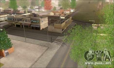 Calles vacías (Screenshots) para GTA San Andreas segunda pantalla