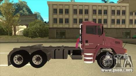 Mrecedes-Benz LS 2638 Canaviero para GTA San Andreas left