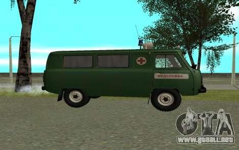 Ambulancia UAZ 452 para GTA San Andreas left