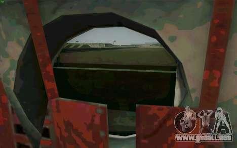 MH-47 para la visión correcta GTA San Andreas