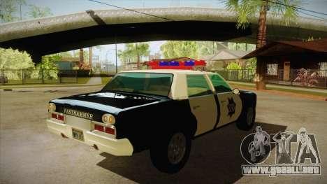 Fasthammer Police SF para la visión correcta GTA San Andreas