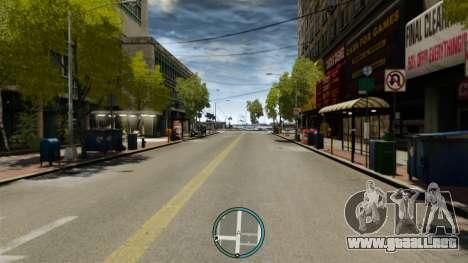 La céntrica ubicación del radar para GTA 4 tercera pantalla
